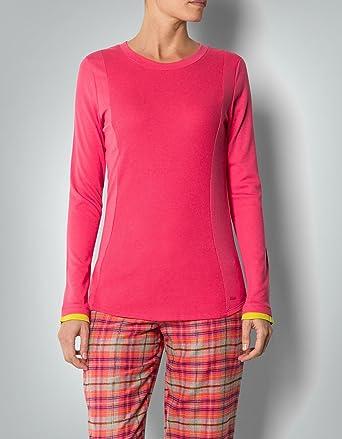 Sonderteil bester Platz viele modisch DKNY Damen Pyjama Baum Wolle Schlafanzug Unifarben, Größe: S ...