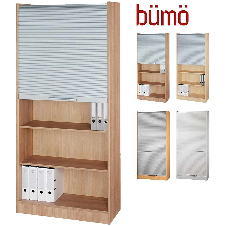 Bümö® Aktenschrank mit Rollladen   Rollladenschrank für ...