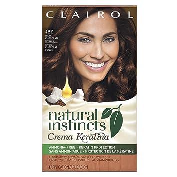 Amazon Com Clairol Natural Instincts Crema Keratina Hair Color Kit