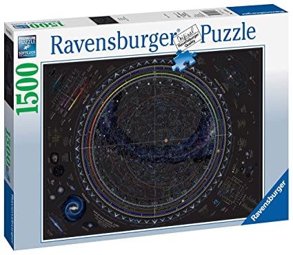 Amazon Com Ravensburger 16213 Map Of The Universe 1500pc