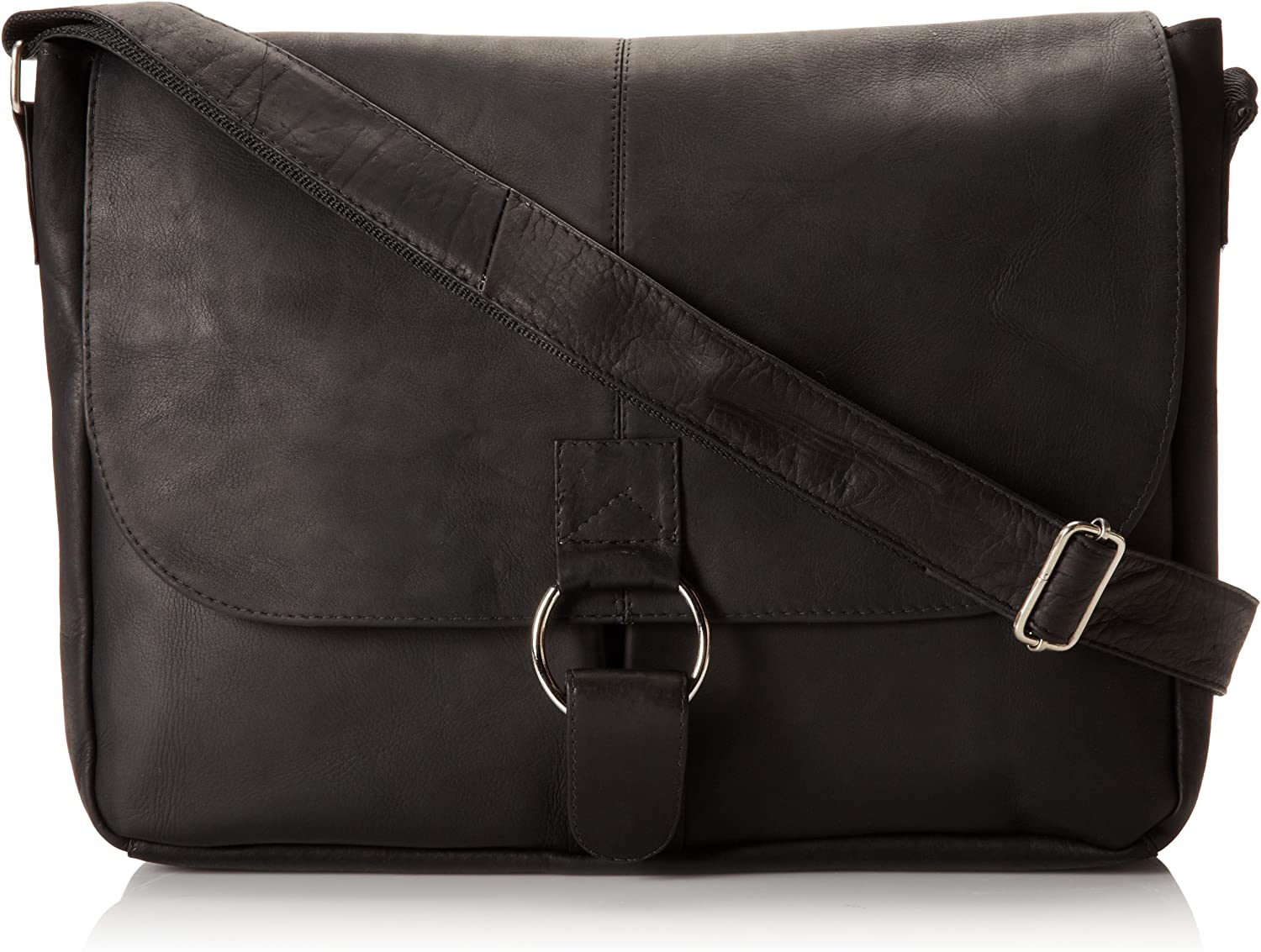 David King Co. Messenger Bag Plus 3, Black, One Size