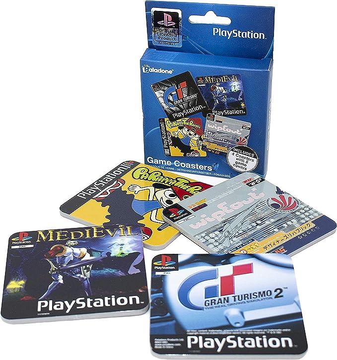 Compra Playstation Juego Posavasos, Tarjeta de Papel, Multicolor ...