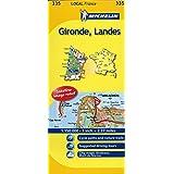 Gironde, Landes Michelin Local Map 335 (Michelin Local Maps)