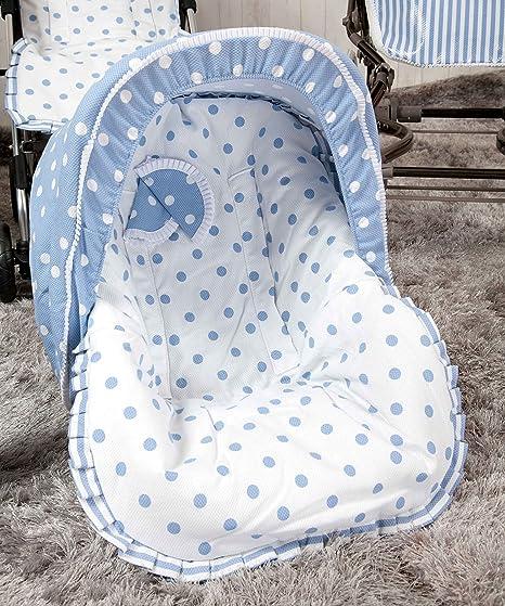 Babyline Carrusel - Colchoneta para silla grupo 0, color azul ...