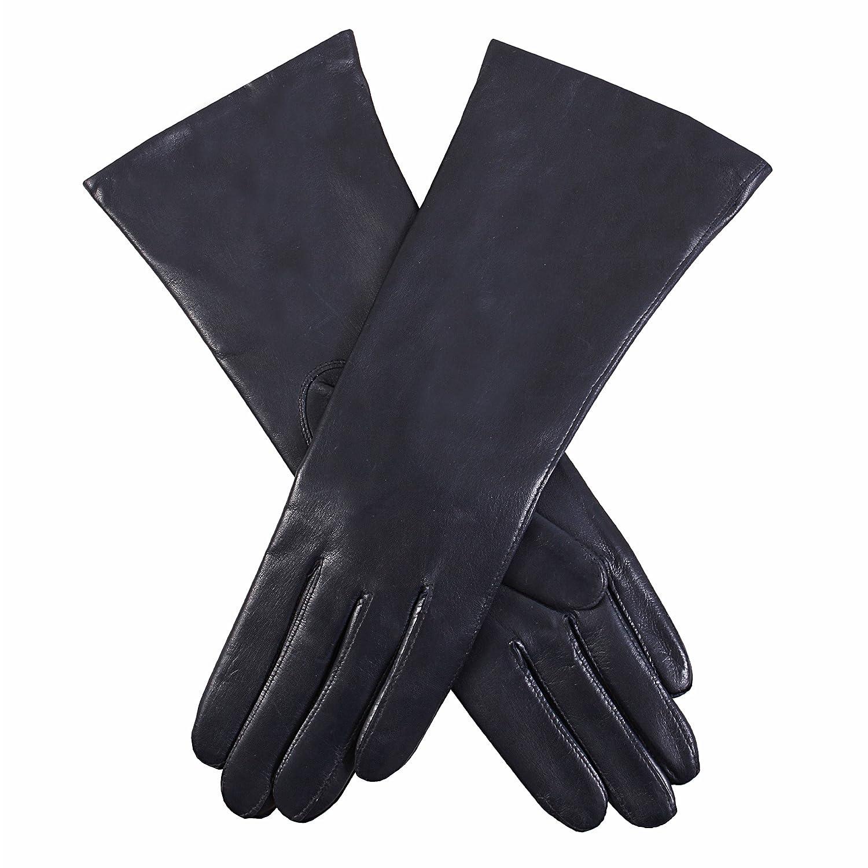 Dents Damen Handschuhe Helene,, Gr. 7 (Herstellergröße: Small (7),Blau (Navy)