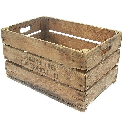 Obstkisten - Caja de almacenaje, 55 x 35 x 32 cm