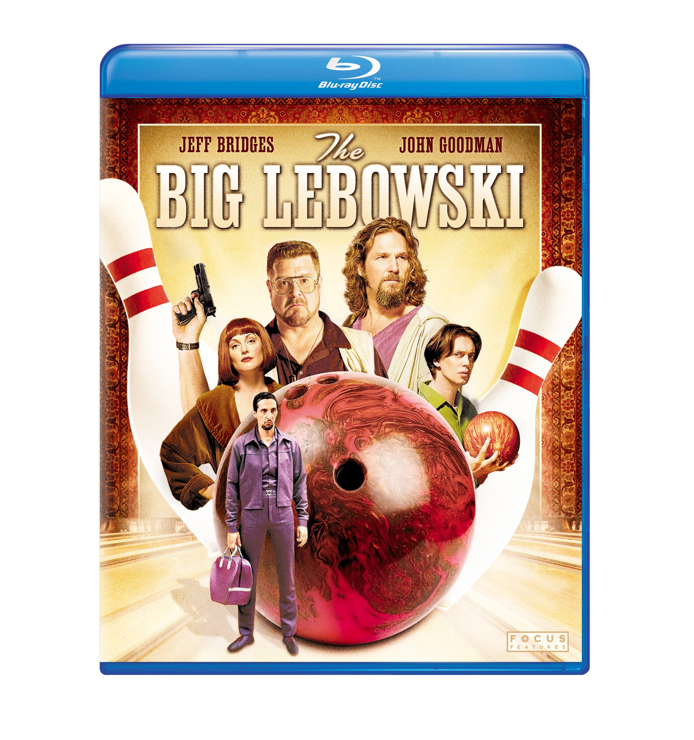 Blu-ray : The Big Lebowski (Digital Theater System, AC-3, Dubbed, , Repackaged)