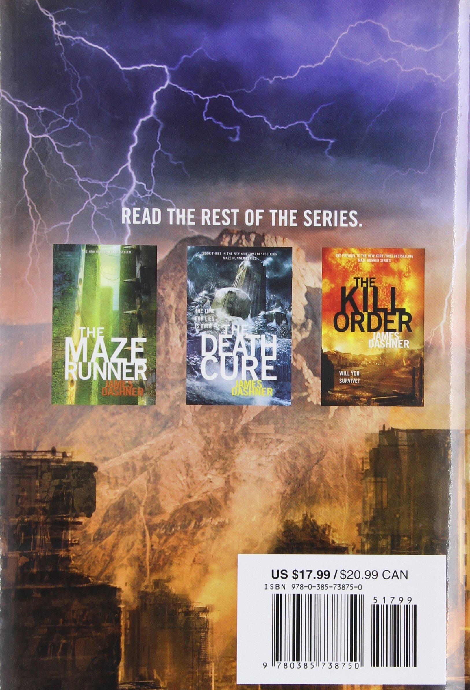 Amazon: The Scorch Trials (maze Runner, Book Two) (9780385738750):  James Dashner: Books
