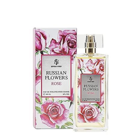 Russe Fleurs Rose Eau De Toilette Pour Femme 100 Ml Neuf Parfum