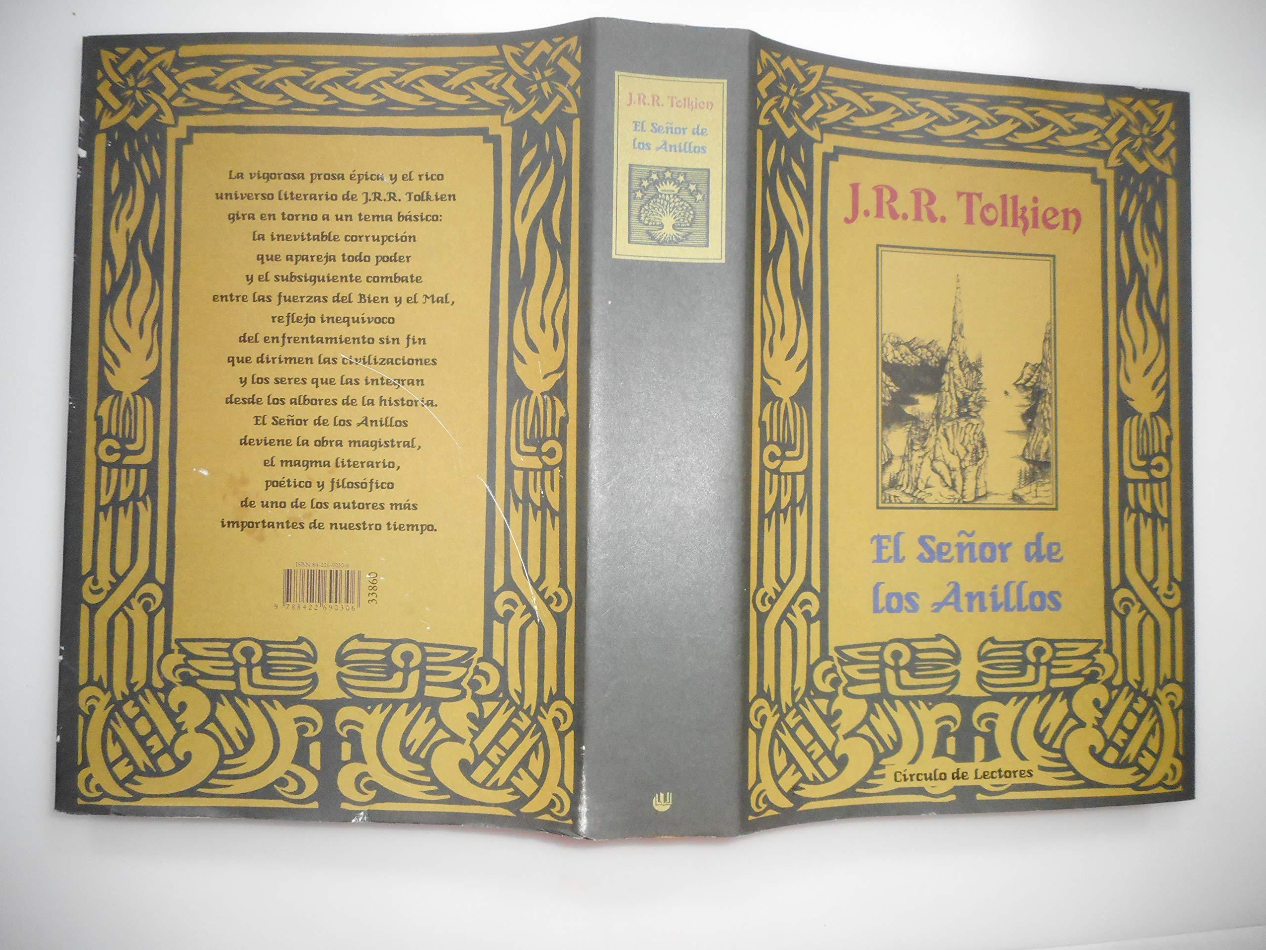 El Señor de los Anillos.: Amazon.es: J. R. R. Tolkien: Libros