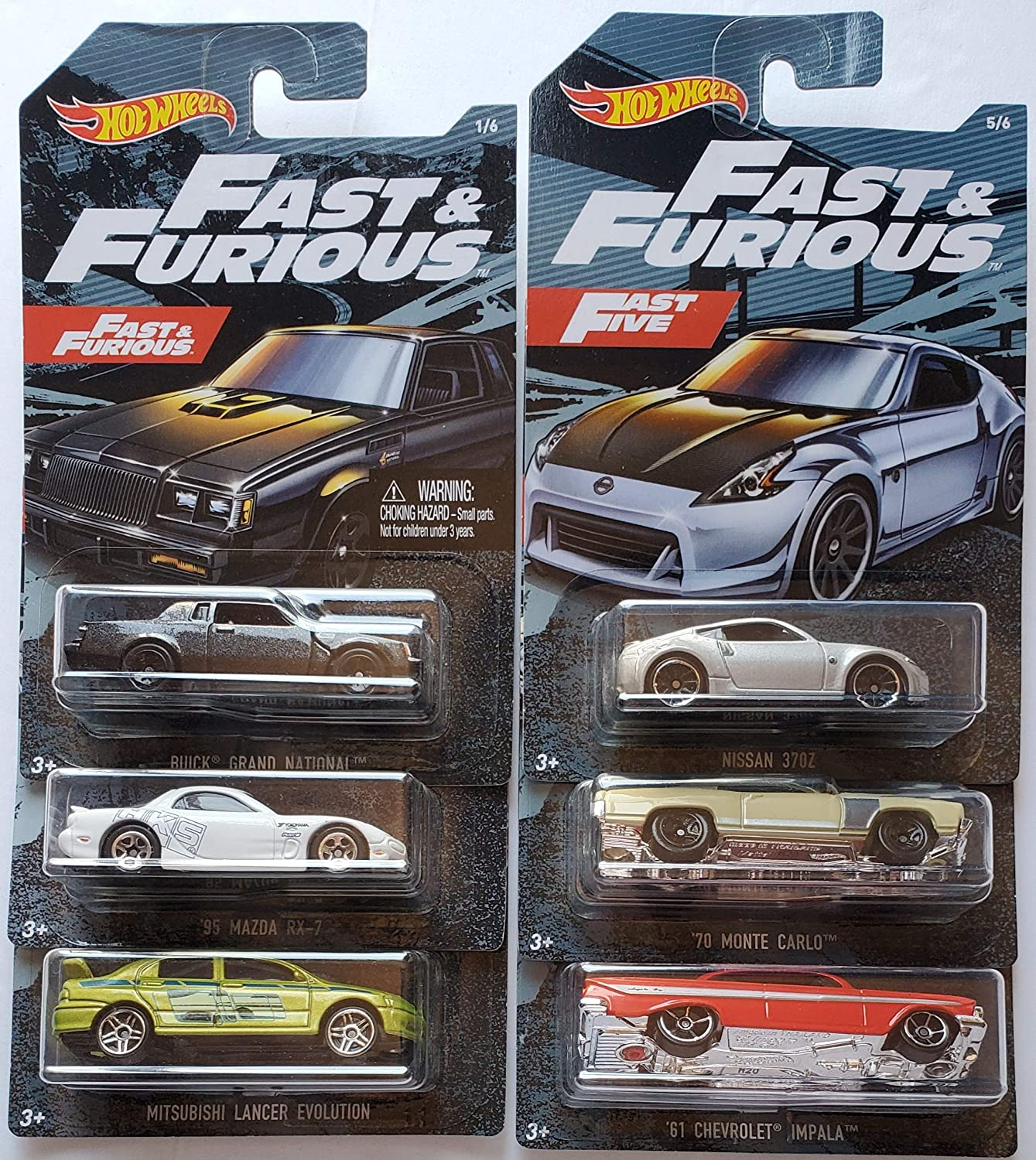 Hot Wheels 2019 Walmart Exclusive Fast & Furious Series Complete ...
