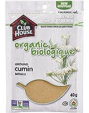 Club House, Quality Natural Herbs & Spices, Organic Ground Cumin, 40g