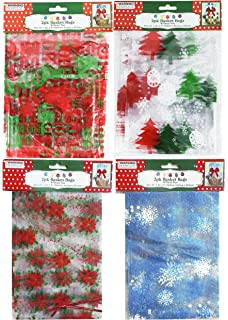 Assorted Patterned Red 6-pk Holiday Washcloths NWT