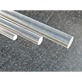 Perspex Round Ø 7 mm Long 1000 mm Acrylic Rod clear colorless