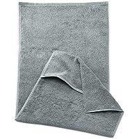 myHomery Sporthandtuch - Fitnesshandtuch aus Baumwolle - Handtücher rutschfest - Trainingshandtuch mit Lasche für Trainingsgeräte - Für Fitnessstudio & Sport - Fitness-Handtuch