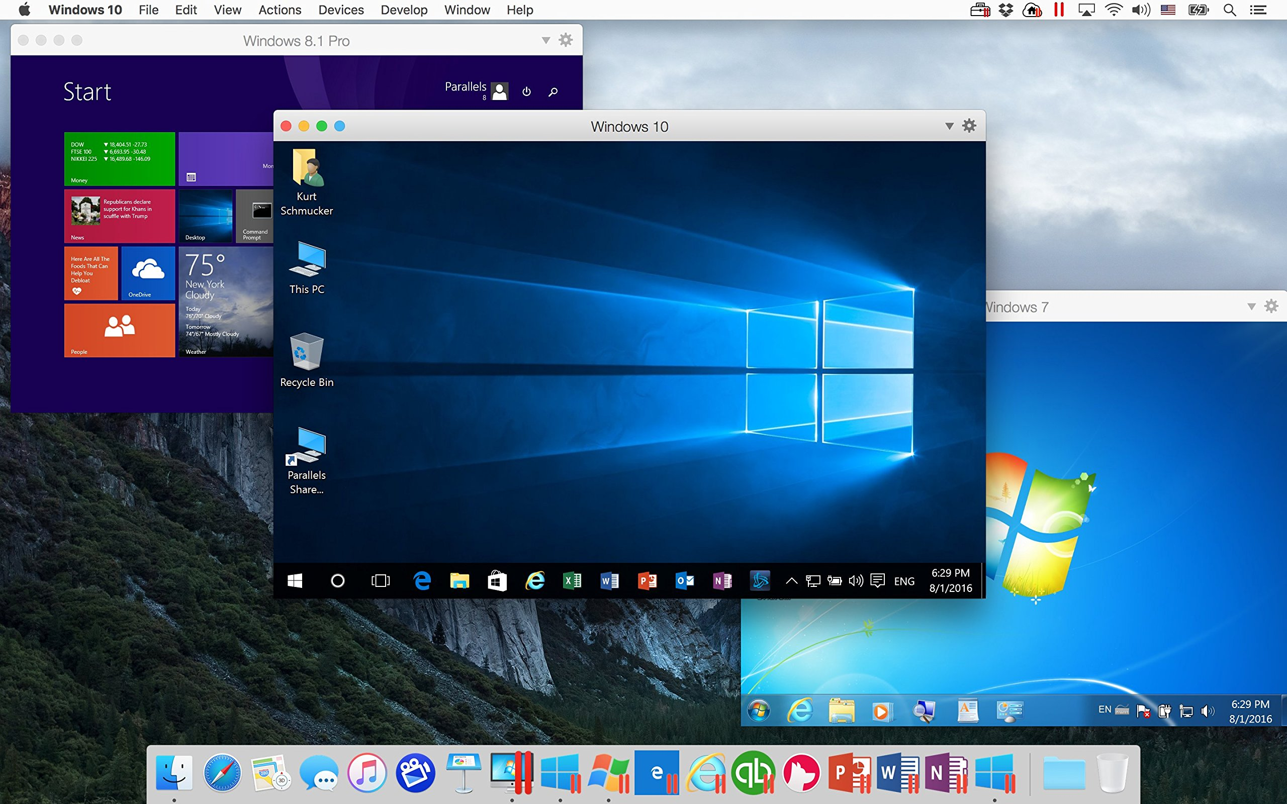 Parallels Desktop 12 for Mac by Parallels Software