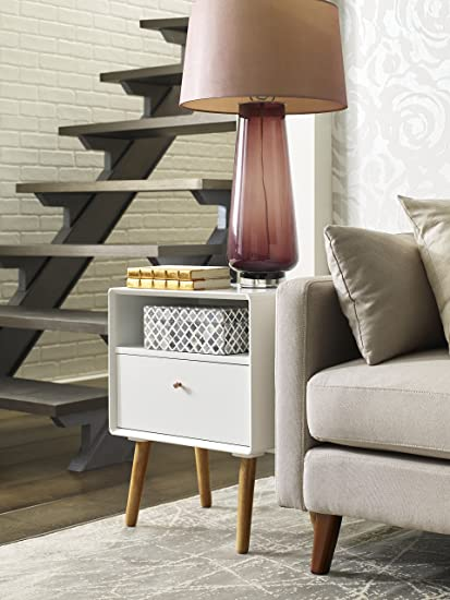 Miraculous Elle Decor Lilou Side Table White Home Interior And Landscaping Ologienasavecom