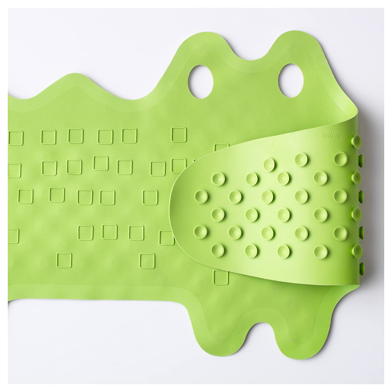 IKEA PATRULL Alfombrilla para bañera cocodrilo verde IKEA of Sweden