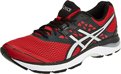 Defectuoso Lluvioso Día del Maestro  Asics - Gel Pulse 9 - Color: Black-Red - Size: 10.0US, Fitness & Cross  Training - Amazon Canada