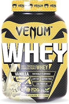 Venum Proteína Whey, 52 raciones, Sabor Vainilla - 1820 gr