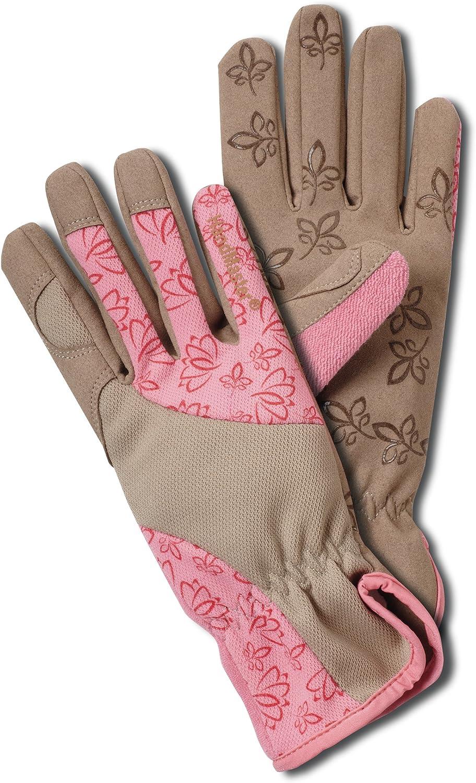 Magid BE168T Bella Women's Floral High Performance Garden Glove, Large
