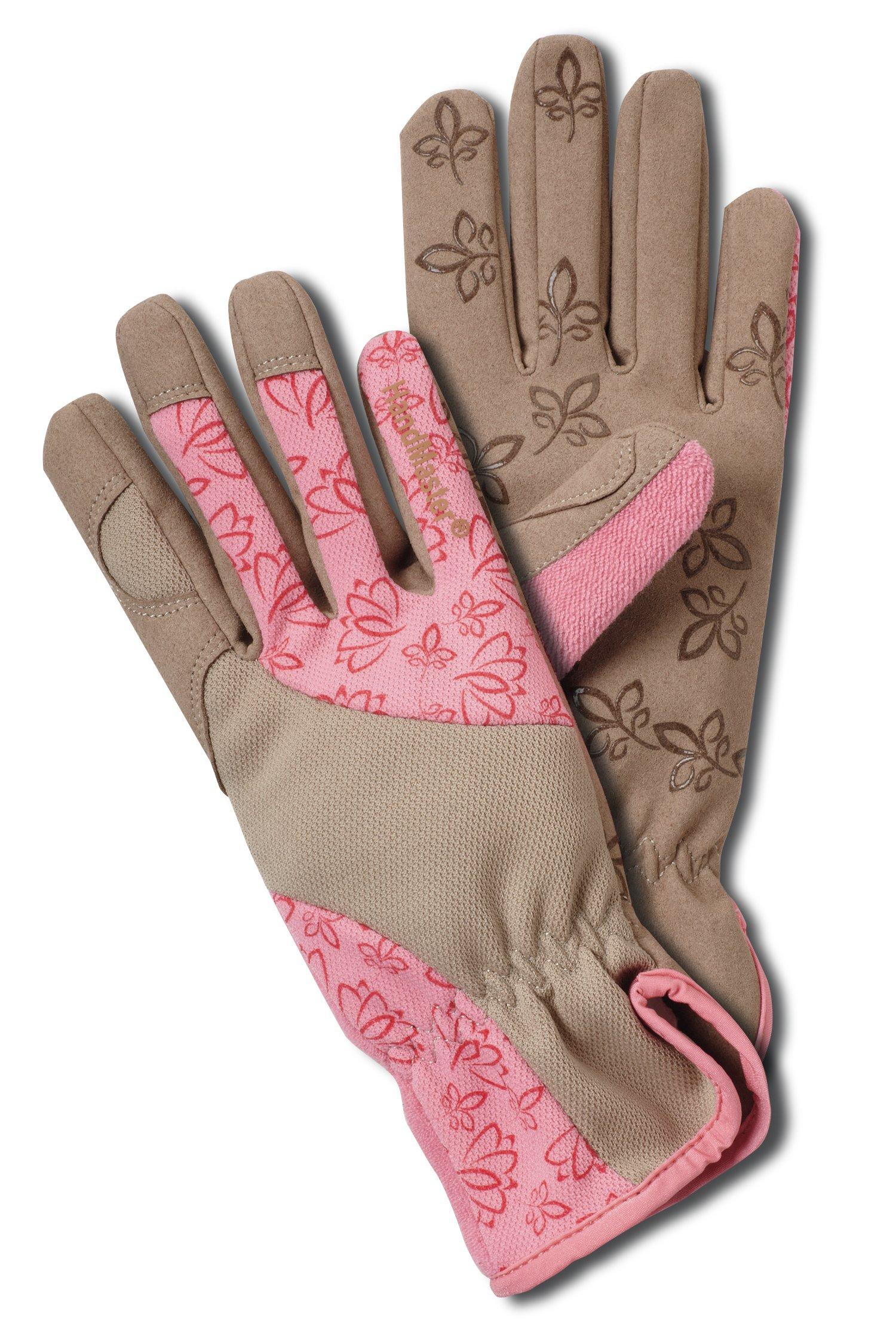 Magid BE168T Bella Women's Floral High Performance Garden Glove, Medium by Magid Glove & Safety (Image #1)
