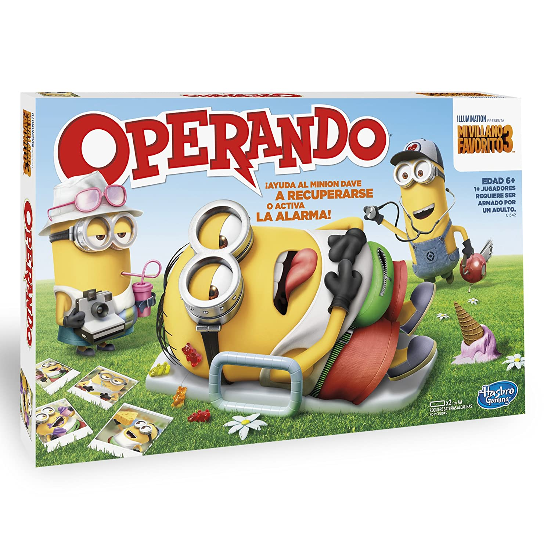 Hasbro Gaming Juego De Mesa Operando Minions C1342