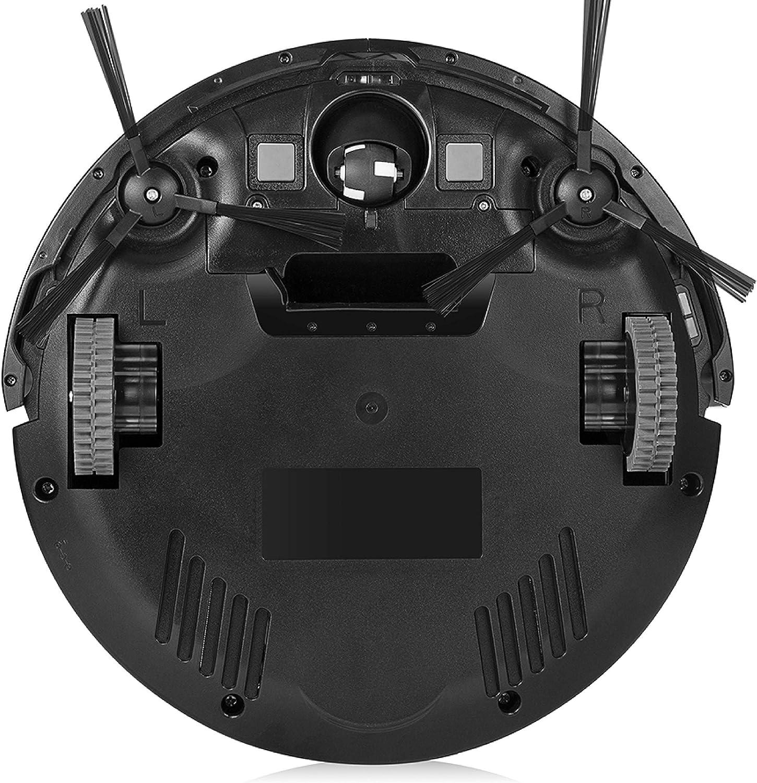 ZACO V4 Robot aspirador con 4 Modos de Limpieza y Limpieza para Pelo de Mascota, Modo Max y Autocarga, fácil Manejo y Programación con El Mando a