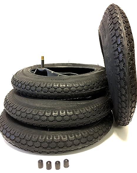 4 x Set Neumáticos y cámaras de aire 12 1/2 x 2 1/