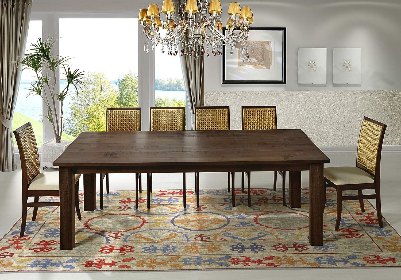 """Artefama Furniture Flora 95"""" Dining Table - Square Legs"""