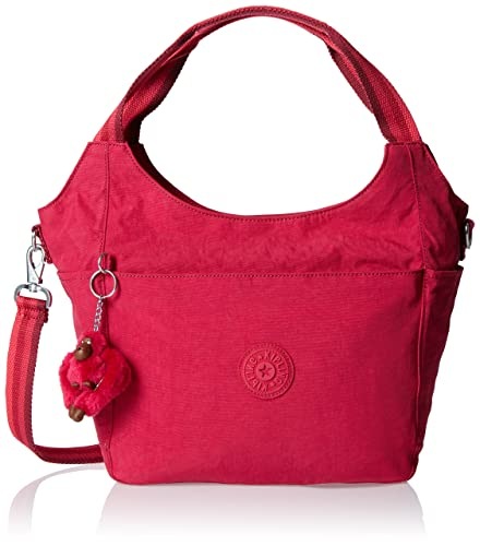 Kipling Carola Shoulder Bag Cherry Pink C