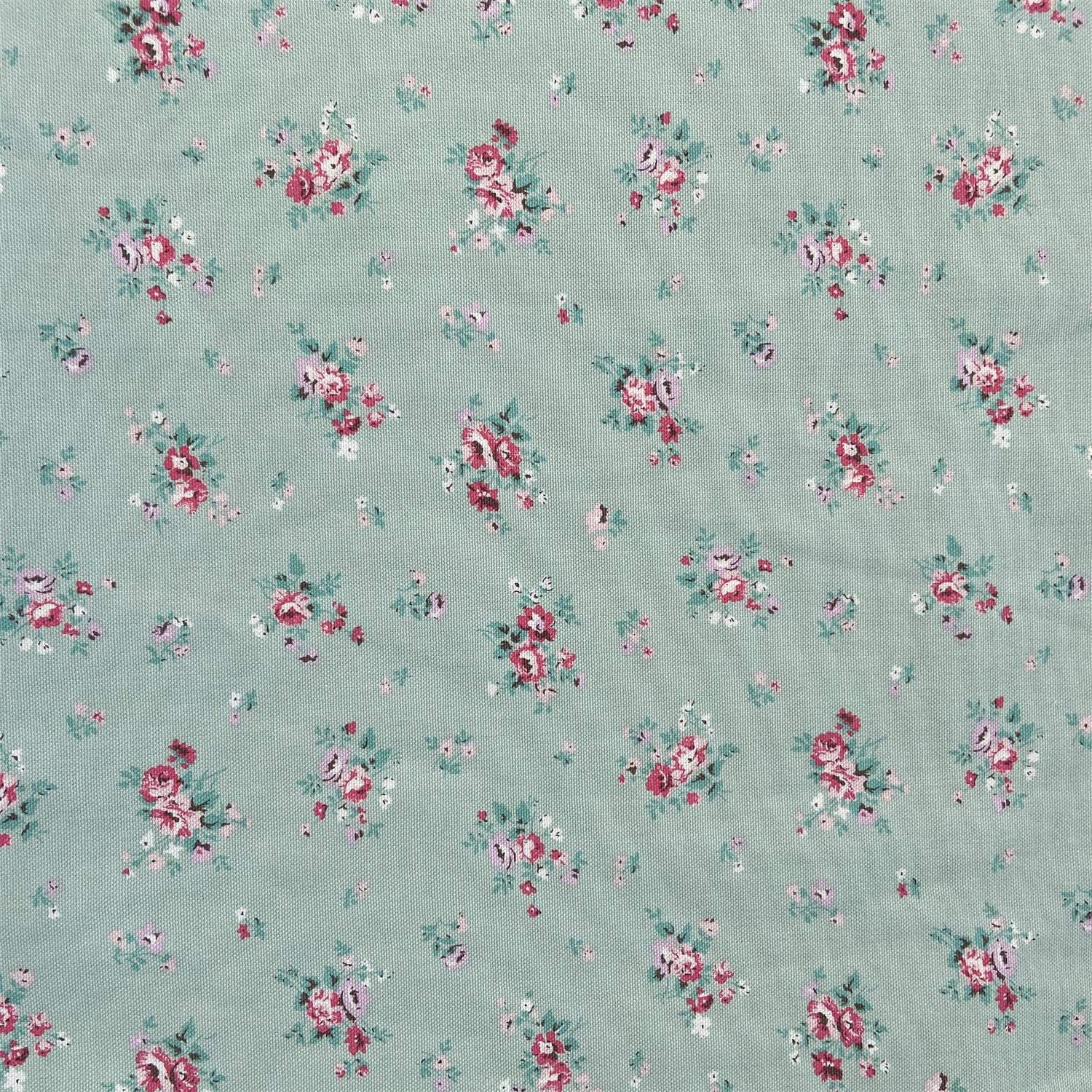 willikiva Printed Canvas Cotton UpholsteryFabricbyTheYard Indoor Outdoor Fabric for Sewing 36