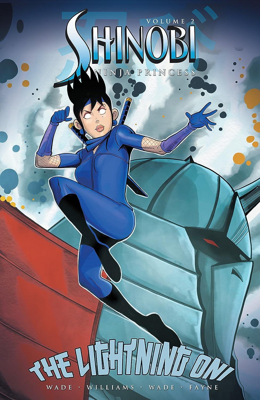 Amazon.com: Shinobi Ninja Princess: Lightning Oni Vol. 2 ...