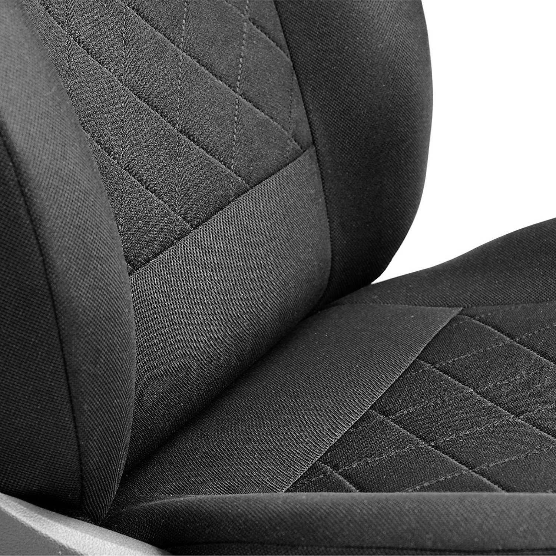 /1/set/ Class B Fundas de asiento/ /Producto Premium Negro tintada cuadros