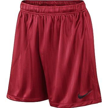 online store 9182a 3bb25 Nike Men s Academy Jaquard Shorts, Men, Academy Jaquard, University Red  Black