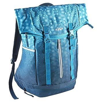 e55d595bdee4 Nike LeBron Ambassador Backpack Blue Force Light Blue Lacquer BA4750-451   Amazon.co.uk  Computers   Accessories
