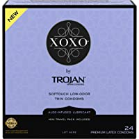 Trojan XOXO Thin Softouch Lubricated Latex Condoms