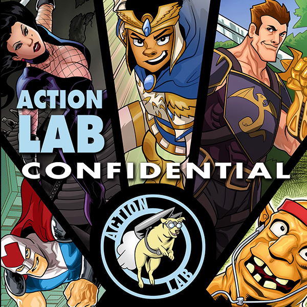 Action Lab Confidential (Issues) (2 Book Series)