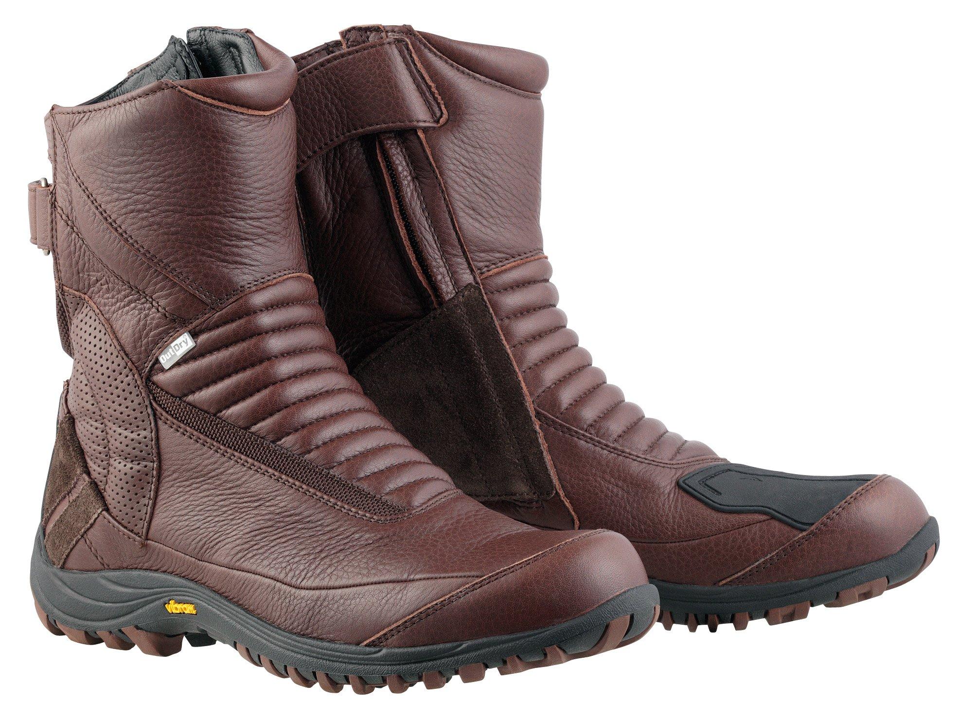 [해외]KUSHITANI (クシタニ) 네오 부츠 다크 브라운 27.5 cm K-4532Z / Kushitani (Kusitani) Neo boots dark brown 27.5 cm K-4532Z
