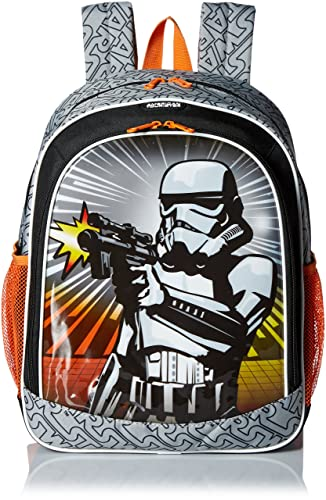 American Tourister Disney Star Wars Storm Troopers Backpack Softside, Multi, One Size