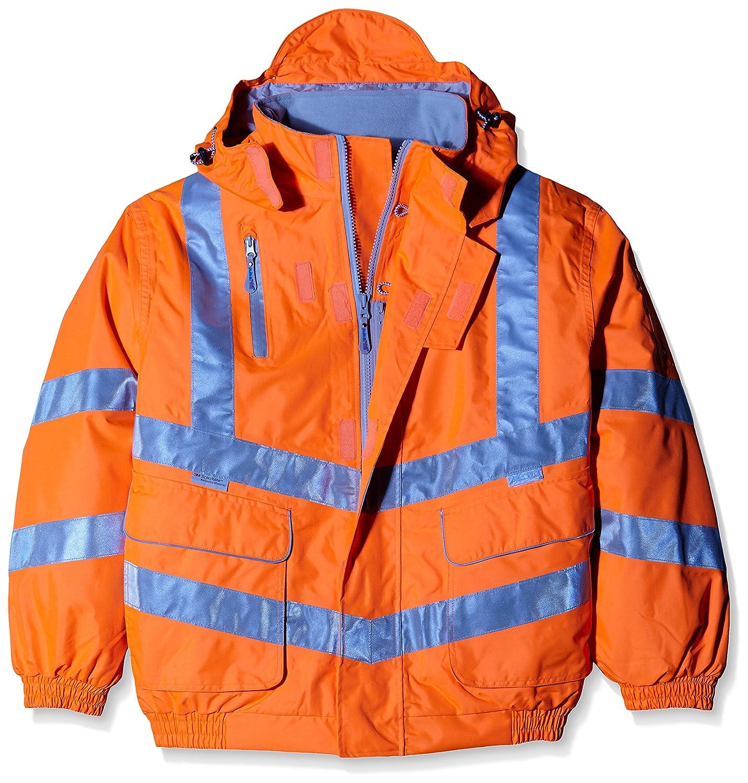 Pulsarail Interactive Polar Fleece Hi-Viz Orange Medium