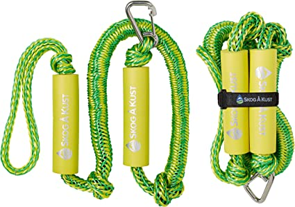 Bungee Dock Line 4-6 Feet Mooring Rope for Boat 4 Pack