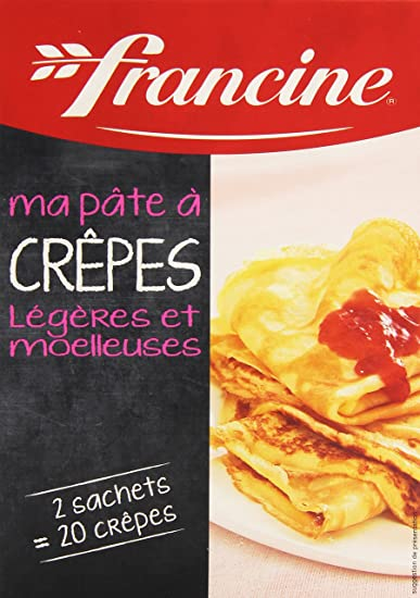 French Pancake Mix Francine-Preparation Pour Crepes - 13,4 Oz