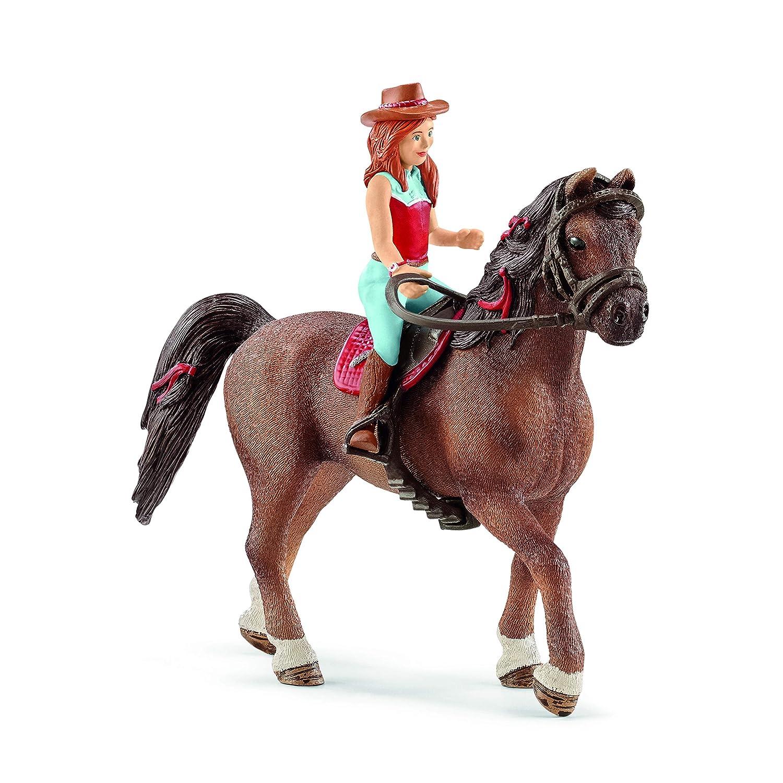 Schleich Horses Accessories Set 42489 Saddle /& Bridle Hannah /& Cayenne