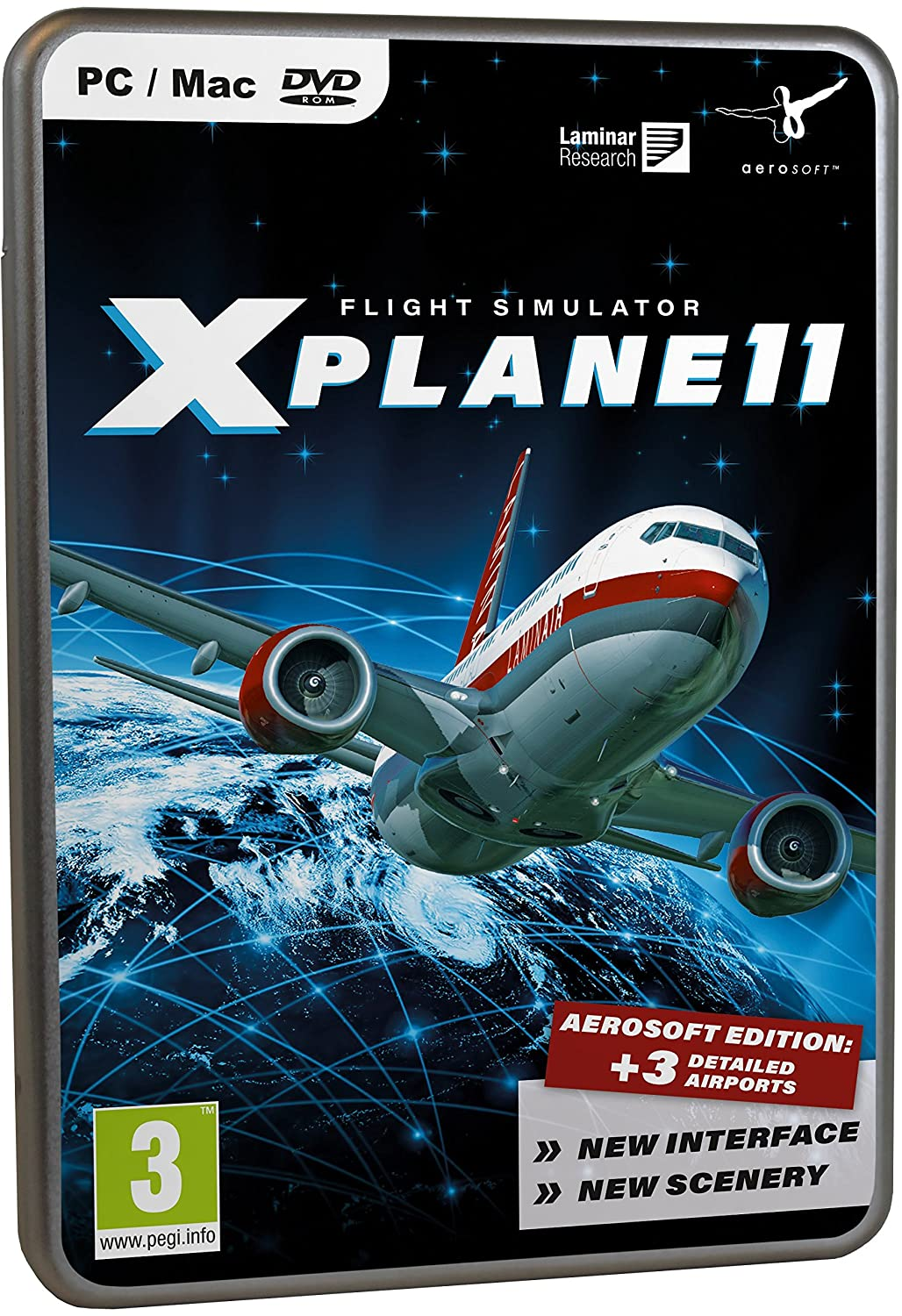 Flight Simulator X-Plane 11 (Mac/PC): Amazon co uk: PC