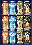 サントリー ザ・プレミアム・モルツ 4種飲み比べ ビールギフトセット 350ml×12本 VA30N