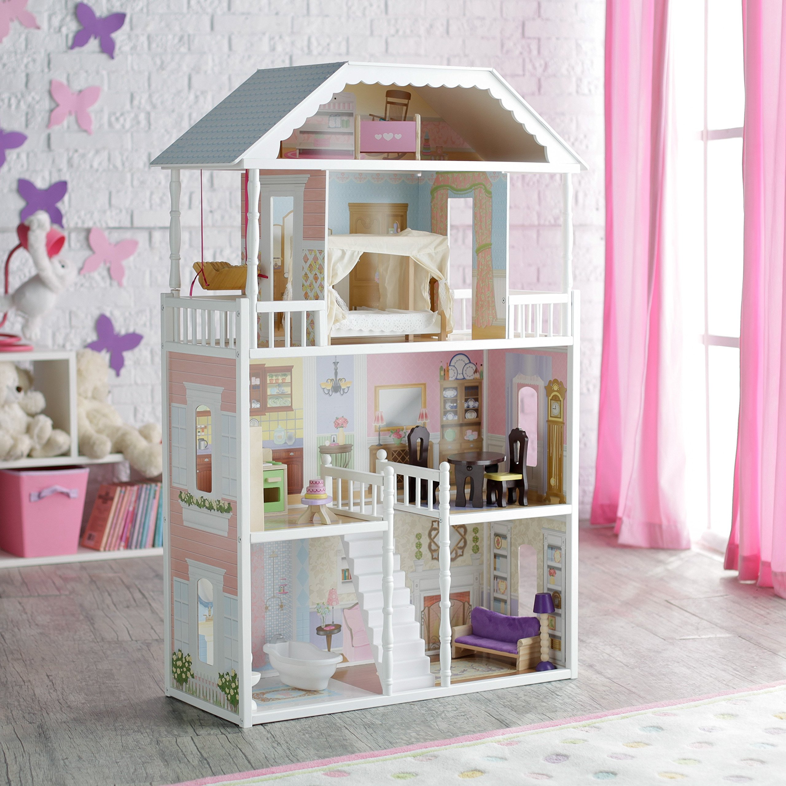 The 10 Best Dollhouse For Toddlers & Little Girls in 2020 5