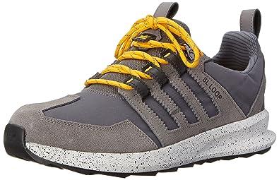 adidas Originals Men's SL Loop TR Running Shoe, Granite/Sharp Grey/Collegiate  Gold