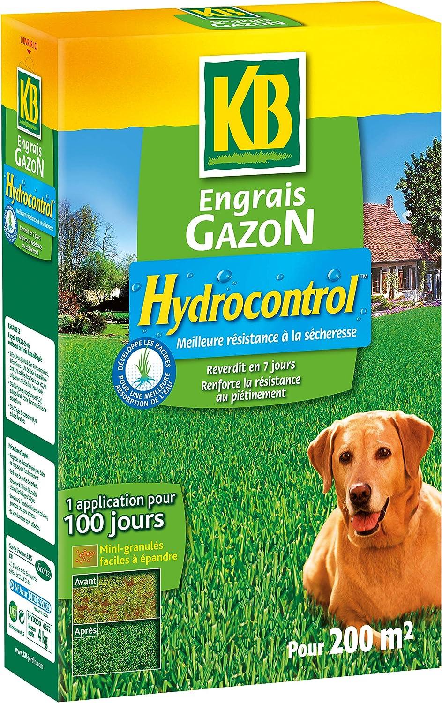 KB Engrais Gazon Hydrocontrol 200 m²