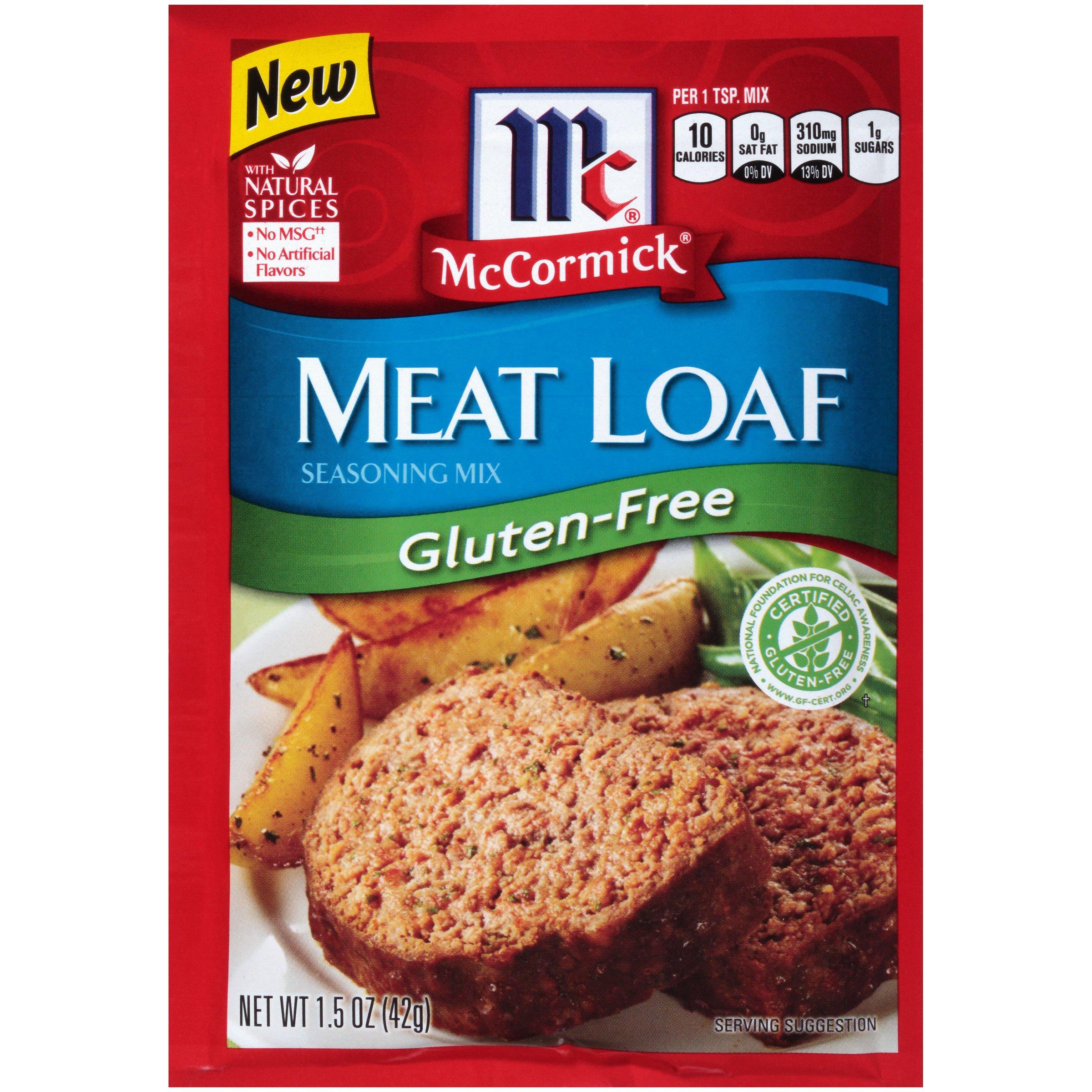McCormick Gluten Free Meatloaf Seasoning, 1.5 oz